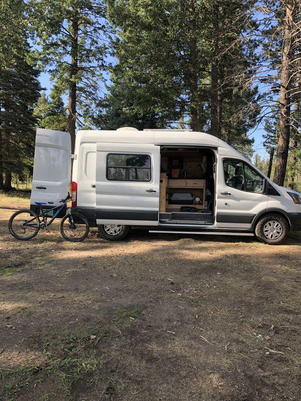 Photo of a campervan for sale: (SOLD) 2018 Super Fun Ford Transit Van