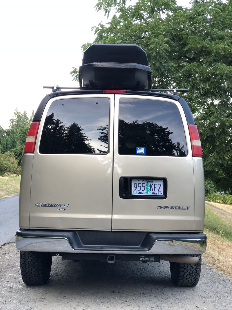 Picture 4/21 of a 2005 AWD Chevrolet Express Adventure Van for sale in Portland, Oregon