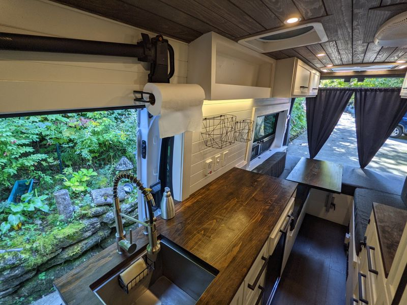 Picture 2/24 of a 2019 Ford Transit 250 extended, lightly used for sale in Asheville, North Carolina