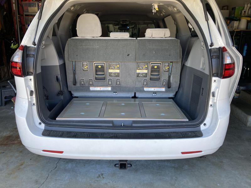 Picture 6/9 of a 2018 Toyota Sienna Camper Van/Modular/Stealth for sale in Santa Cruz, California