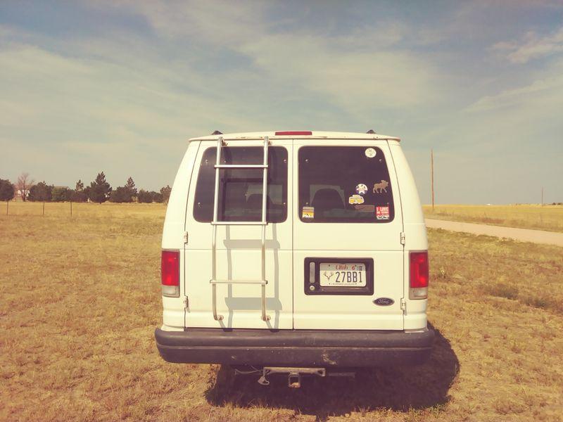 Picture 4/13 of a 1999 ford cargo conversion van for sale in Colorado Springs, Colorado