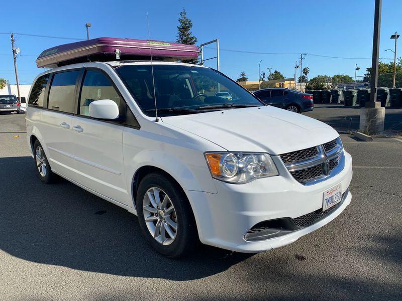 Picture 1/12 of a 2013 Dodge Caravan SXT Camper Van Mini RV Trailer  for sale in Martinez, California