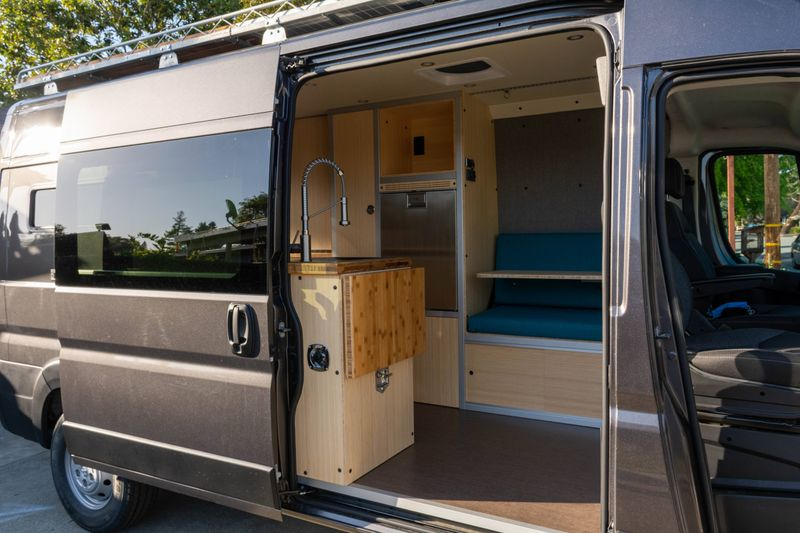 Picture 3/12 of a '21 Promaster Professionally Built Camper for sale in Sunnyvale, California