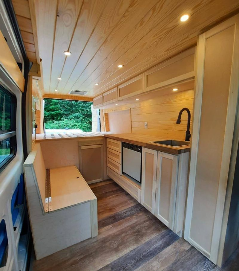 """Picture 1/8 of a 2021 Promaster 159"""" Professionally Built for sale in Boone, North Carolina"""