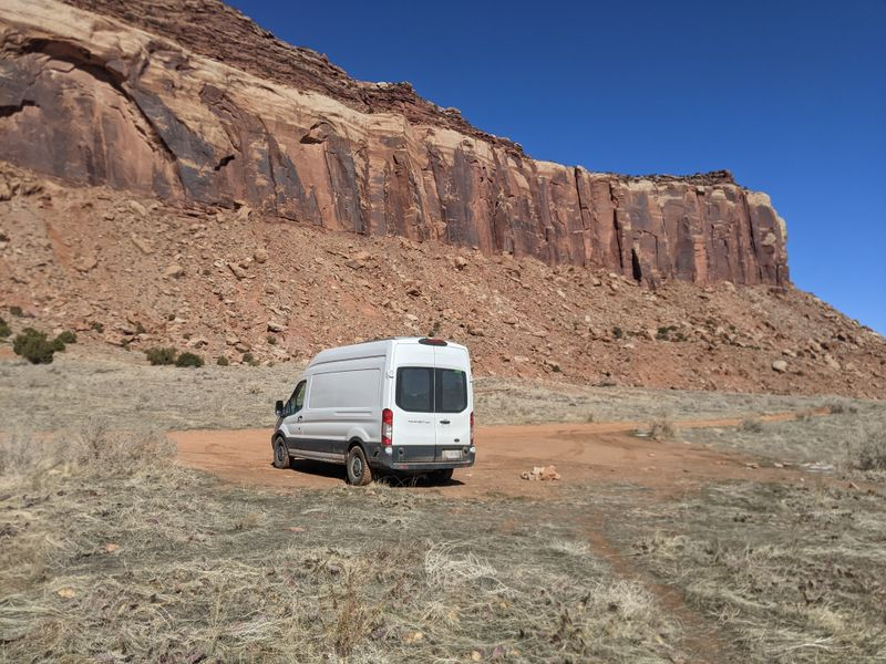Picture 1/23 of a Fully converted 2018 Ford Transit 250 High Roof  for sale in Flagstaff, Arizona