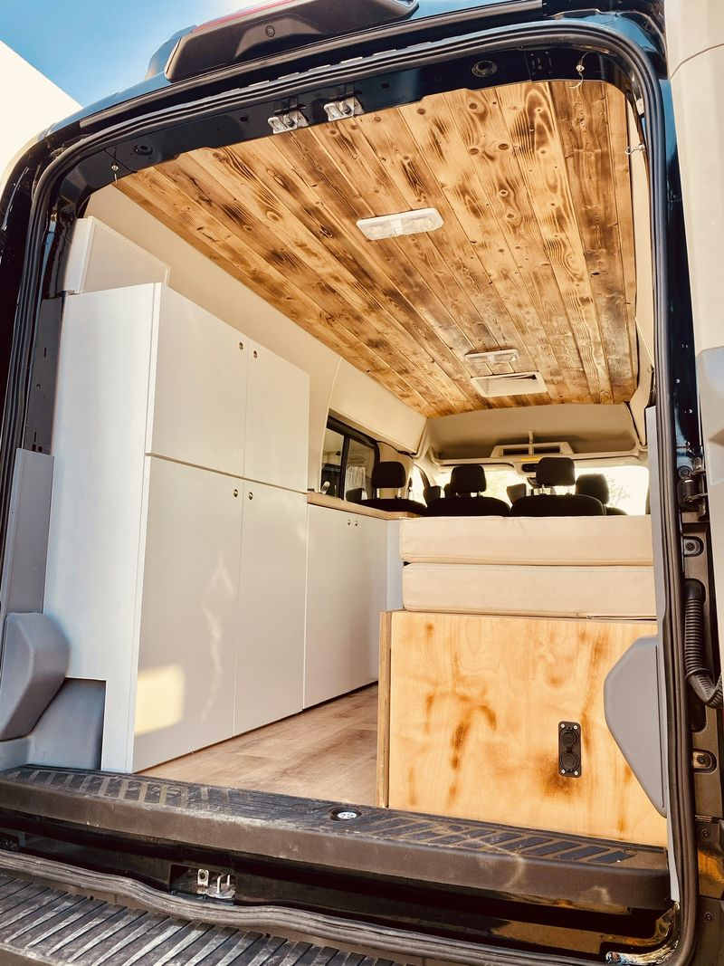 Picture 2/36 of a Ford Transit 350 XLT Converted Campervan Solar great for family  for sale in Santa Monica, California