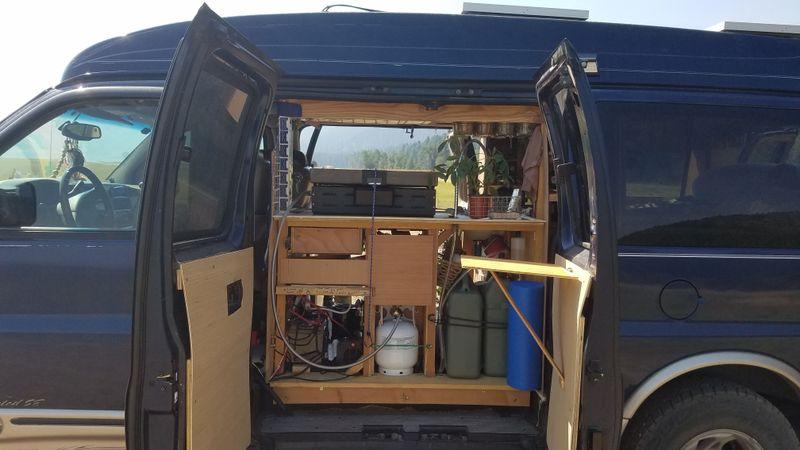 Picture 6/35 of a 03 GMC Savana 1500 Explorer Custom Off Grid Camper for sale in South Portland, Maine