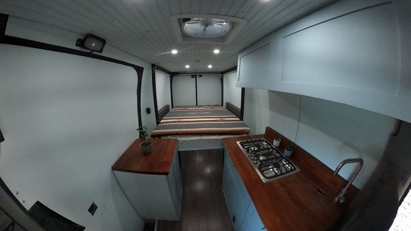 Picture 2/10 of a Sprinter Van with Bed Lift and Mercedes WARRANTY! for sale in Moab, Utah