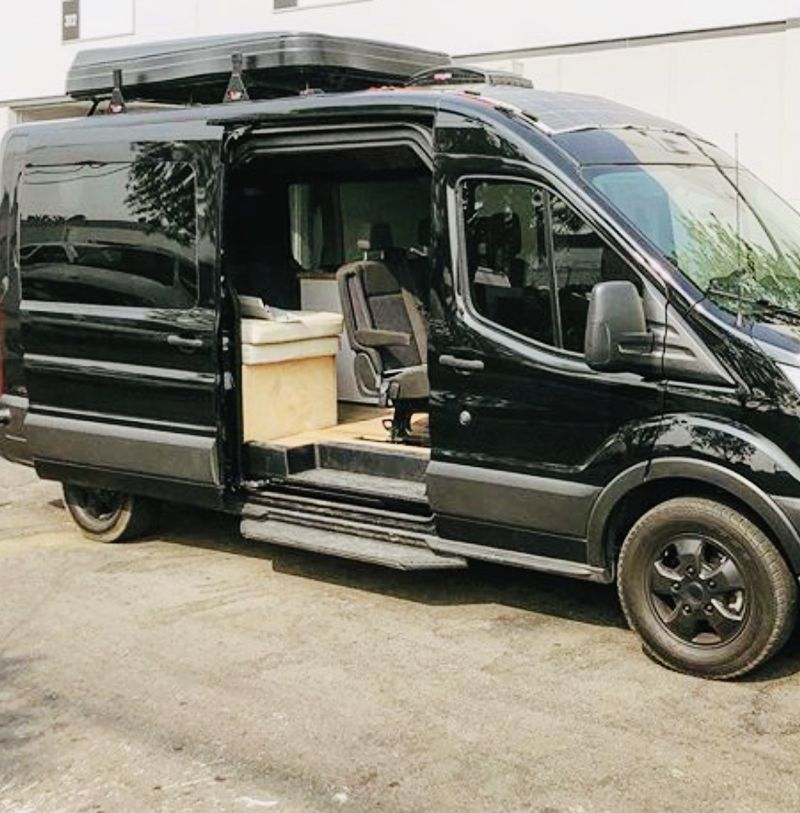 Picture 3/36 of a Ford Transit 350 XLT Converted Campervan Solar great for family  for sale in Santa Monica, California