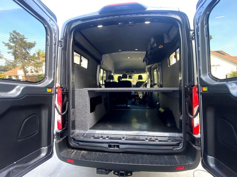 Picture 4/10 of a 2021 AWD Ford Transit  Weekender with Pop Top *sold* for sale in Sand Point, Alaska