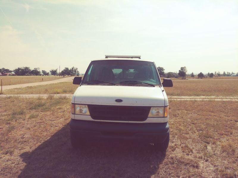 Picture 1/13 of a 1999 ford cargo conversion van for sale in Colorado Springs, Colorado
