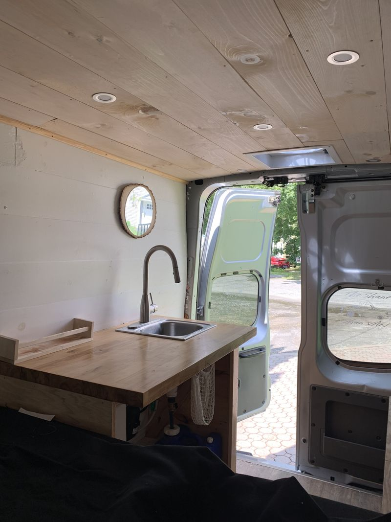 Picture 4/10 of a 2017 Nissan NV 2500 High Roof Converted Van for sale in Winsted, Connecticut