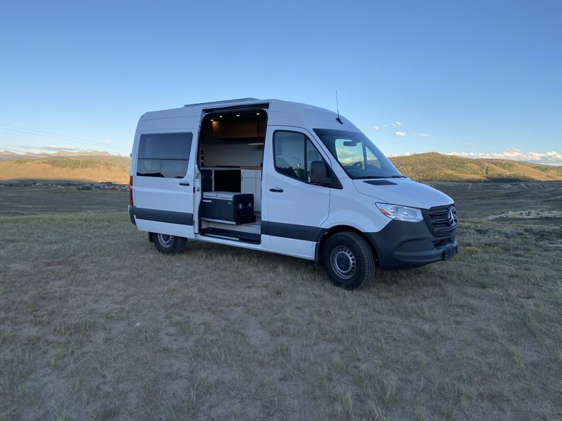Picture 1/20 of a 2021 Mercedes Sprinter van 144 Diesel  for sale in Grand Junction, Colorado