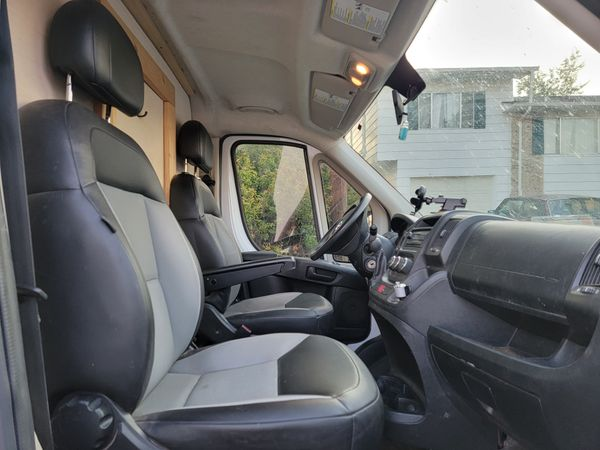 Photo of a campervan for sale: 2016 Dodge Ram Promaster Campervan