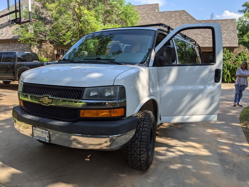 Picture 5/10 of a Big Betty   '14 Chevy Express Van 4x4 !! for sale in Lawton, Oklahoma