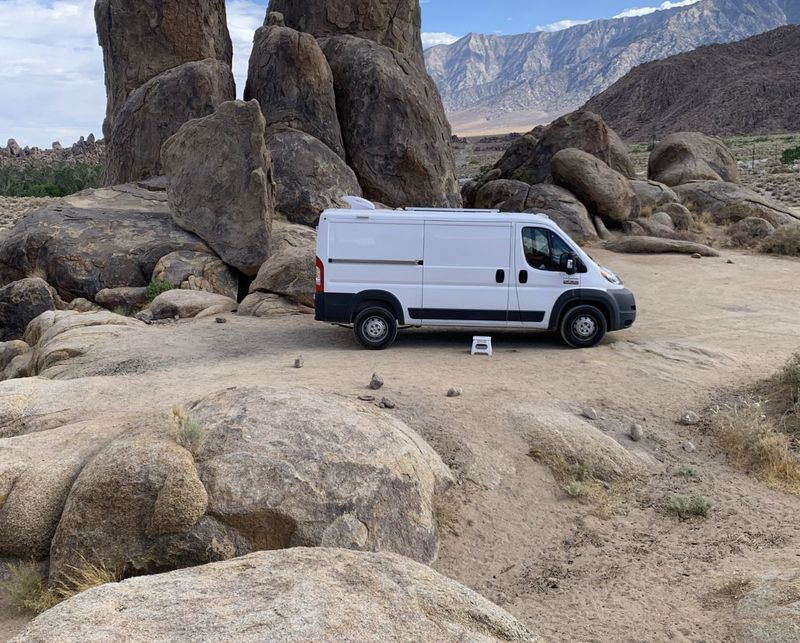 Picture 3/32 of a 2018 Dodge Promaster 136WB Low Roof for sale in Ontario, California