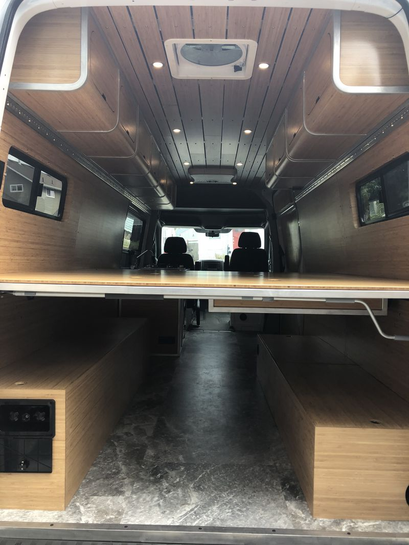 Picture 3/12 of a 2018 Mercedes Sprinter 4x4 + ZenVanz camper build for sale in Bozeman, Montana