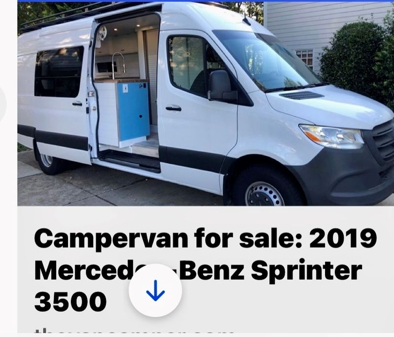 Picture 1/16 of a 2019 Mercedes-Benz Sprinter 3500 3.0L V6 Turbo  for sale in Whitefish, Montana