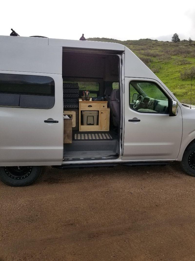 Picture 5/22 of a 2018 Nissan NV2500 4x4 Camper Van 5.6L V8 for sale in Fort Collins, Colorado