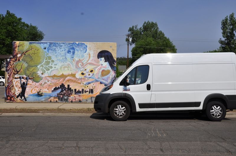 Picture 1/14 of a 2014 Ram ProMaster 1500 High Roof 83k miles for sale in Albuquerque, New Mexico