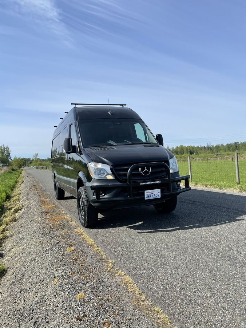 Picture 3/18 of a 2017 Mercedes sprinter 4x4 camper for sale in Seattle, Washington