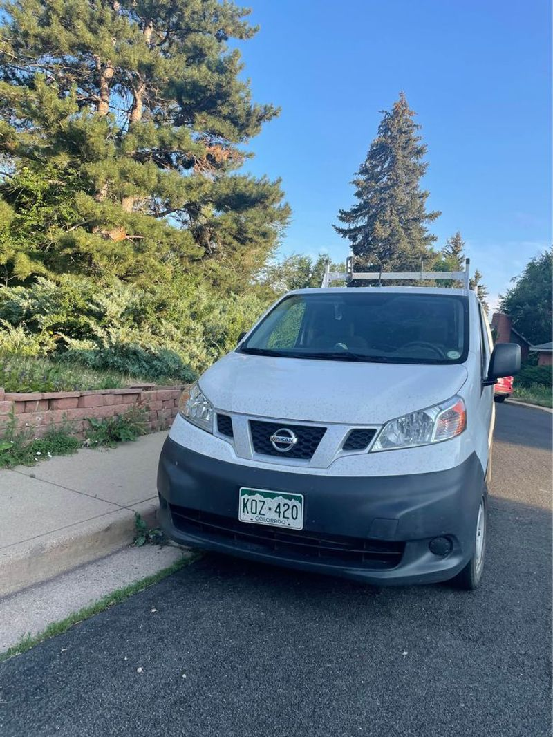 Picture 4/18 of a Nissan NV microcamper with solar for sale in Boulder, Colorado
