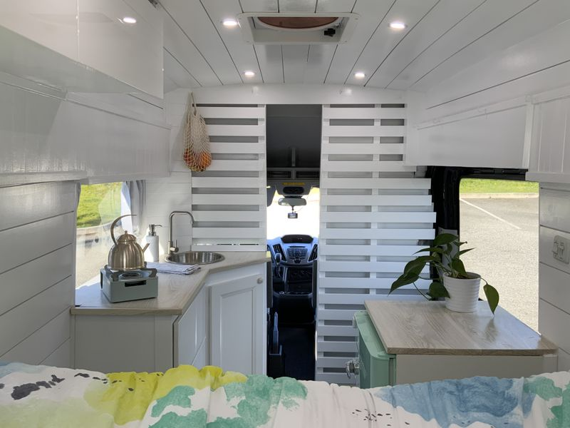 Picture 1/7 of a 2017 Ford Transit High Roof Passenger Camper Van for sale in Burlington, Washington
