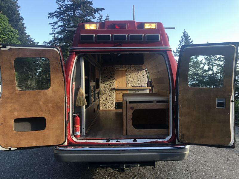 Picture 1/17 of a 1998 7.3 Diesel Ford E350 NEW PRO CONVERSION  for sale in Bellingham, Washington