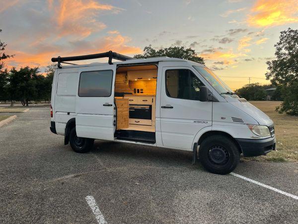Photo of a campervan for sale: 2004 Dodge Sprinter 2500 Diesel Camper Van