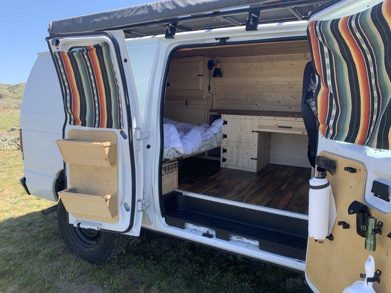 Picture 5/22 of a Ford E250 Surf/MTB Camper for sale in Santa Cruz, California