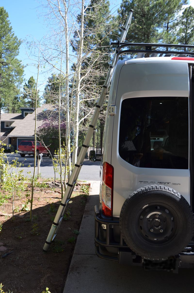Picture 4/23 of a 2017 Ford Transit 350, High Roof, RWD, Full Build for sale in Flagstaff, Arizona