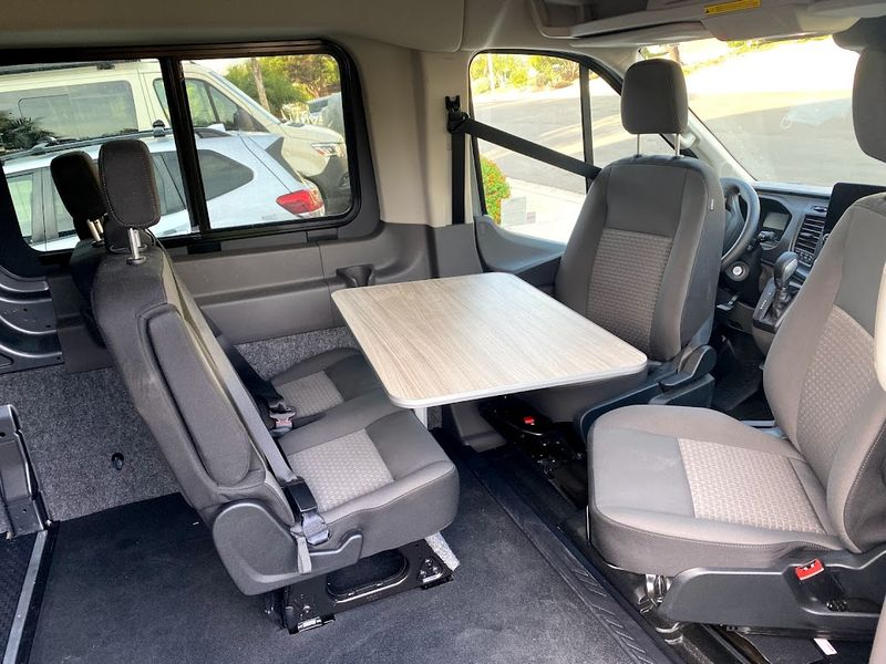 Picture 2/10 of a 2021 AWD Ford Transit  Weekender with Pop Top *sold* for sale in Sand Point, Alaska