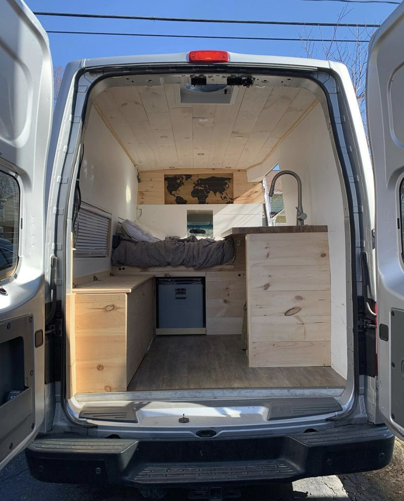 Picture 1/10 of a 2017 Nissan NV 2500 High Roof Converted Van for sale in Winsted, Connecticut