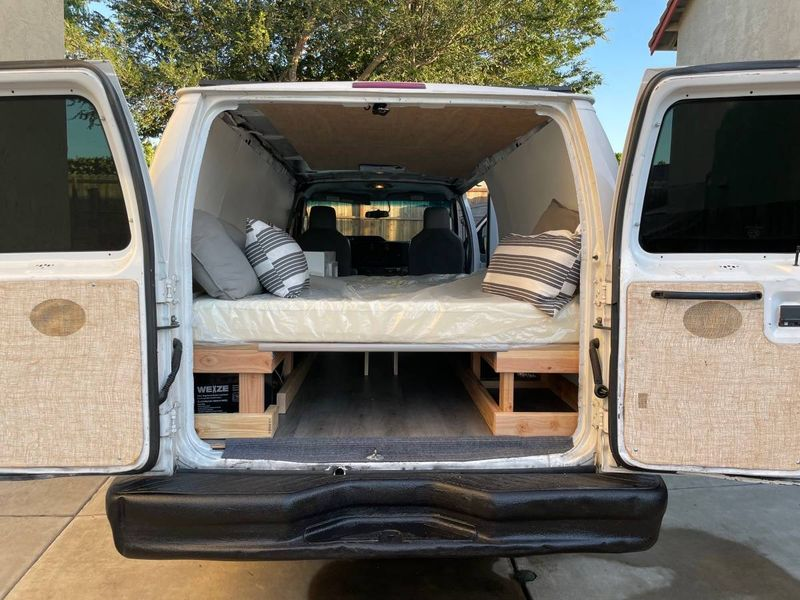 Picture 2/10 of a 2014 Ford E350 Cargo Van (ready to make your own!) for sale in Oakland, California