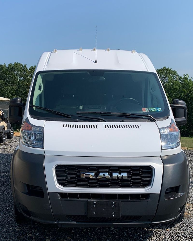 """Picture 2/27 of a 2019 Promaster 2500 159"""" High Roof van """"Jack"""" for sale in Millerstown, Pennsylvania"""