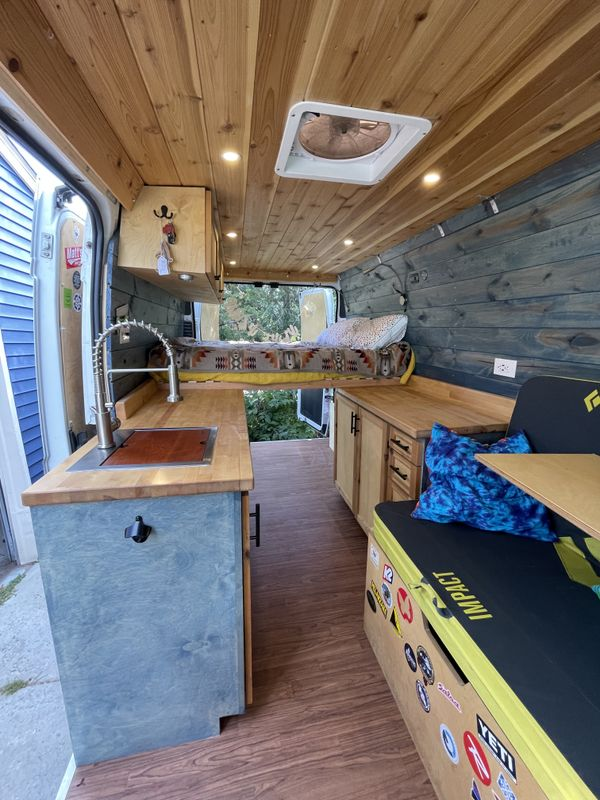Photo of a campervan for sale: (SOLD) 2015 Ram Promaster Four Season Campervan
