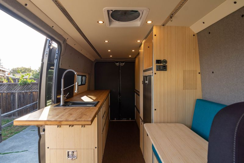 Picture 2/12 of a '21 Promaster Professionally Built Camper for sale in Sunnyvale, California