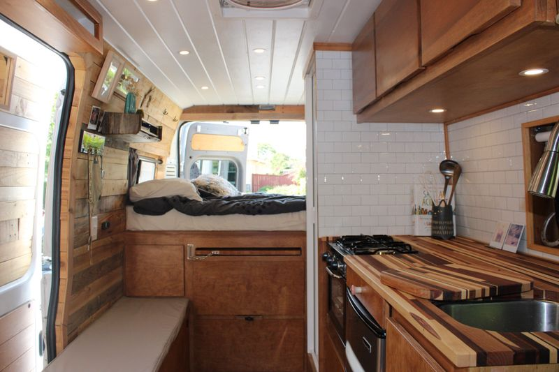 Picture 1/18 of a Custom 2018 Dodge Ram Promaster 1500, high roof, 159 WB for sale in San Diego, California