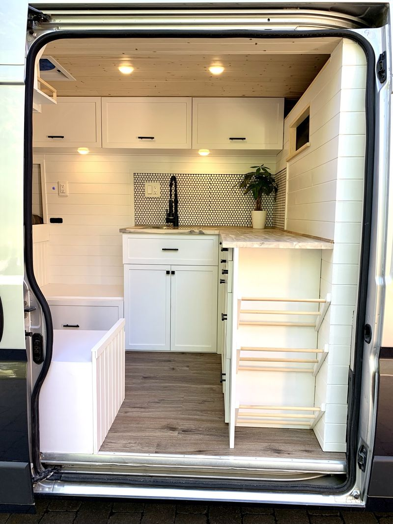 Picture 3/9 of a Spectacular 3-Passenger Camper in a 2014 Promaster for sale in Buffalo, New York