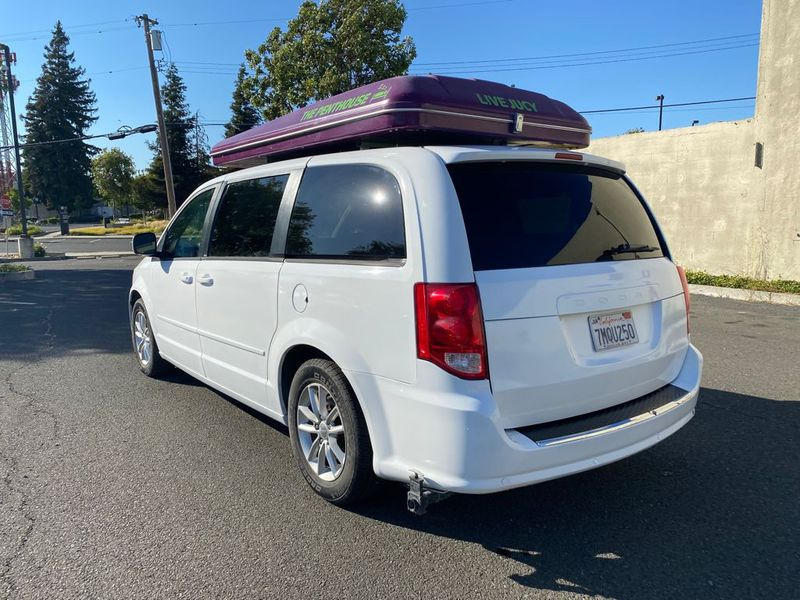 Picture 4/12 of a 2013 Dodge Caravan SXT Camper Van Mini RV Trailer  for sale in Martinez, California