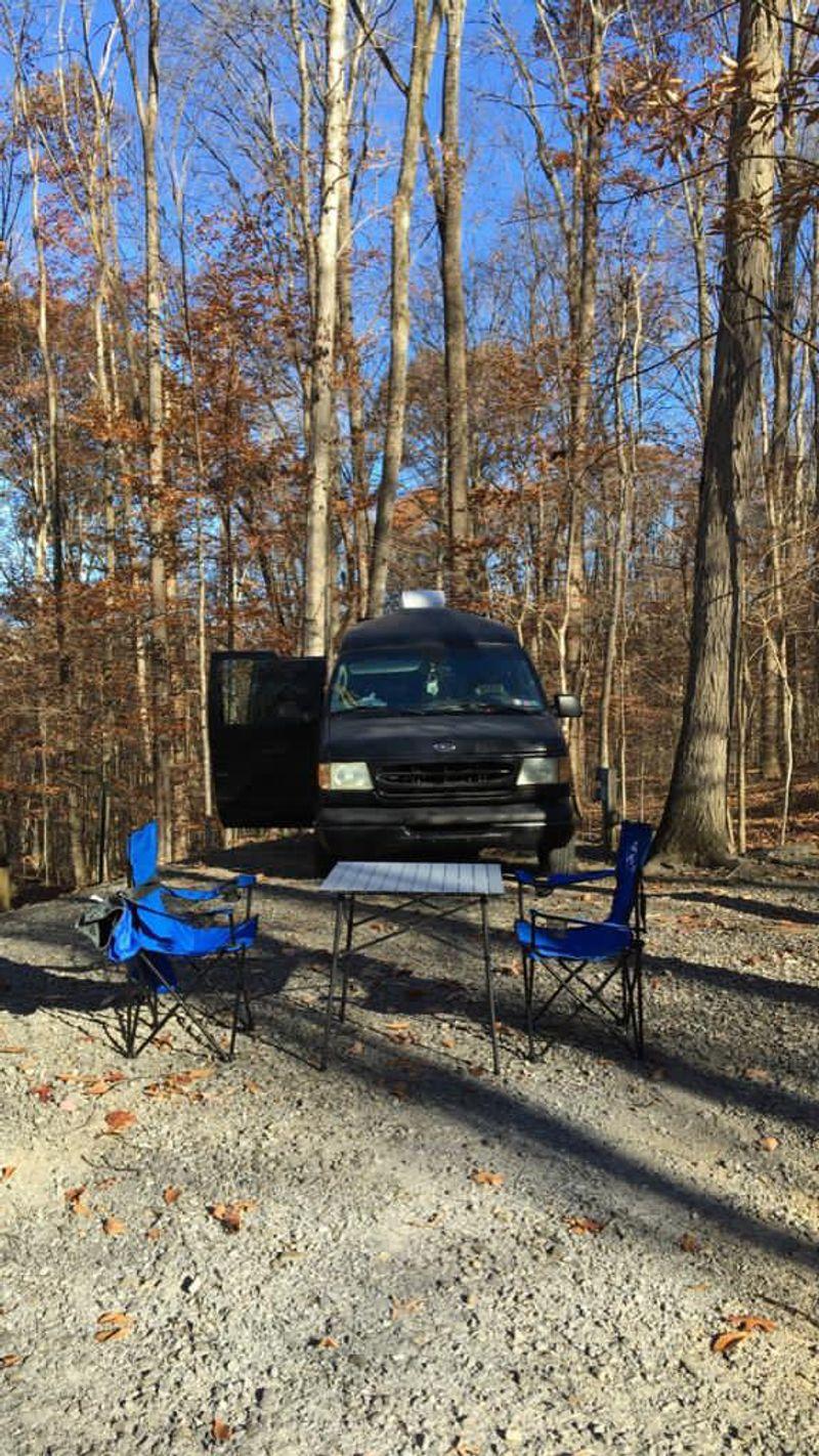 Picture 1/53 of a 2003 Ford Econoline E150 offgrid Camper Van for sale in Philadelphia, Pennsylvania