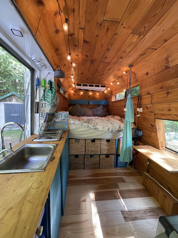 Photo of a campervan for sale: Tina the Minibus