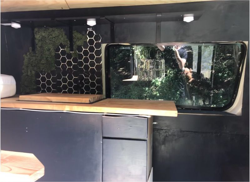 """Picture 4/12 of a 2021 Sprinter 170"""" High Roof 80% done for sale in Austin, Texas"""