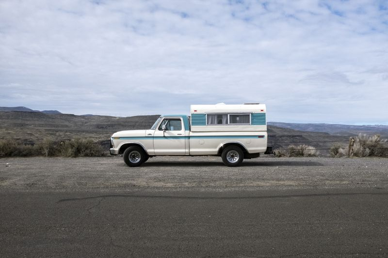 Picture 1/45 of a 1978 Ford F-150 Custom Truck Camper for sale in Seattle, Washington