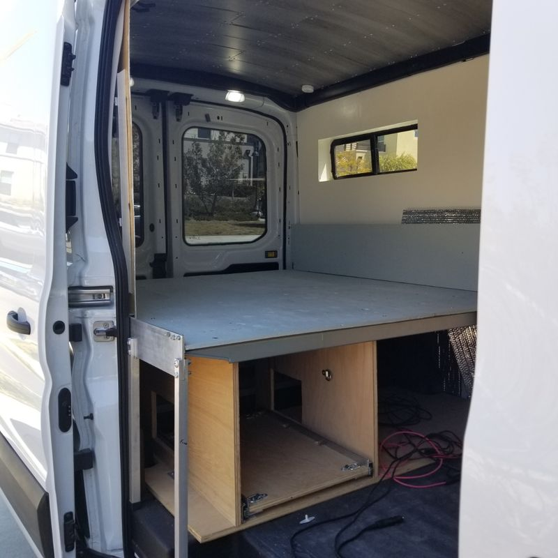 Picture 2/8 of a 2019 Medium Roof Ford Transit 130WB for sale in Big Bear Lake, California