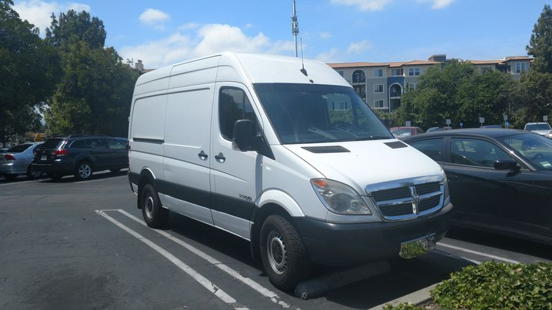 Picture 1/12 of a Custom High-Top 2007 Sprinter van with solar for sale in Birmingham, Alabama