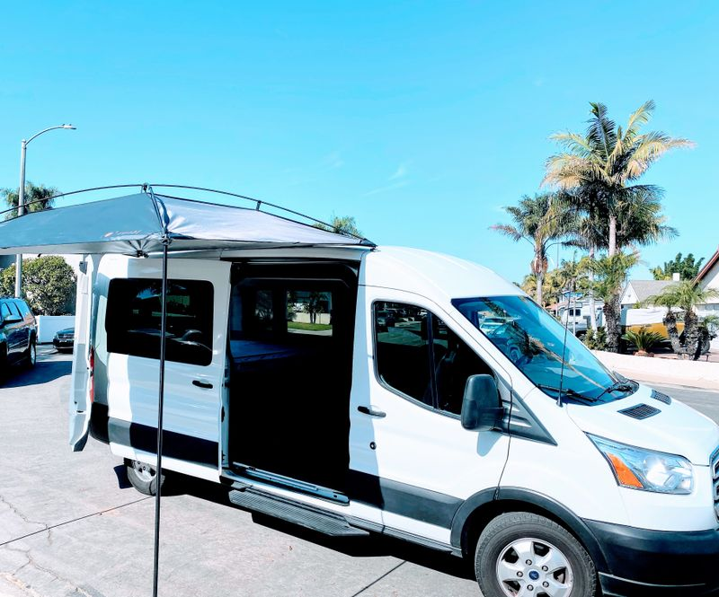 Picture 1/12 of a 2019 Ford Transit Mid-Roof Conversion Van EcoBoost for sale in Huntington Beach, California