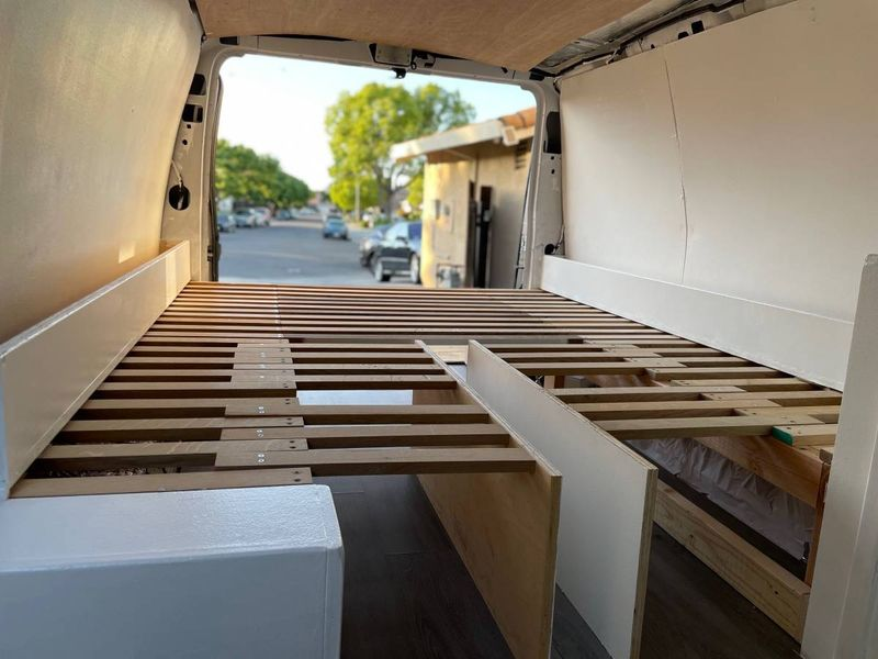 Picture 4/10 of a 2014 Ford E350 Cargo Van (ready to make your own!) for sale in Oakland, California
