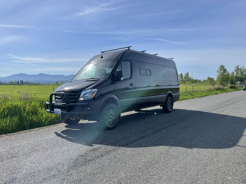 Picture 5/18 of a 2017 Mercedes sprinter 4x4 camper for sale in Seattle, Washington
