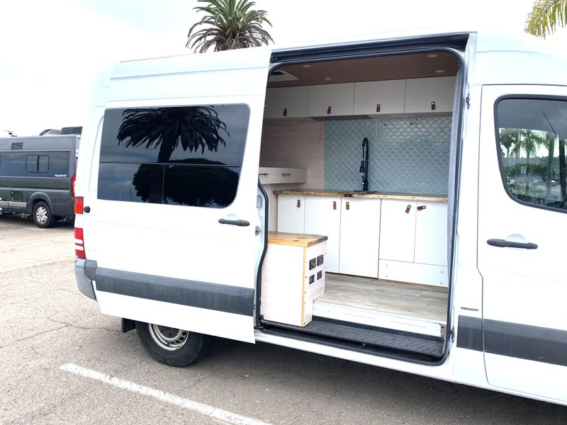 Picture 6/20 of a Fully outfitted Custom Hi-top Sprinter 144 van for sale in San Diego, California